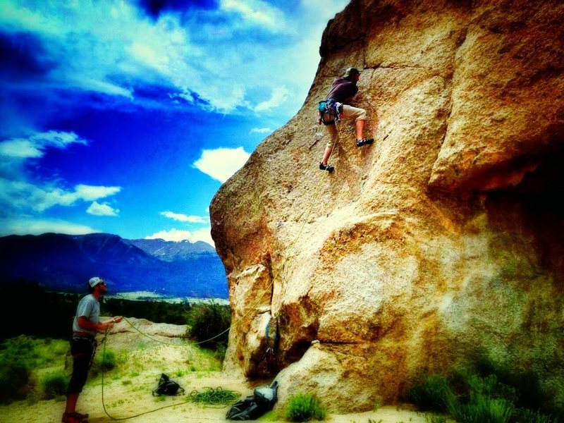 Rock Climbing Photo: Elephant Rock