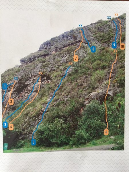 route #3. From the monodedo guidebook