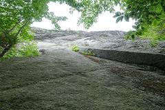 Rock Climbing Photo: Start of Contact
