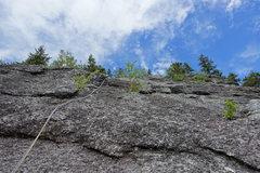 Rock Climbing Photo: Third pitch of Hank Chinos.