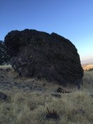 Rock Climbing Photo: Cattle Drive Rock.