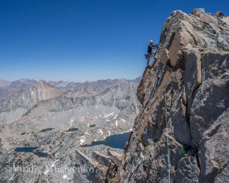 Rock Climbing Photo: Summit ridge