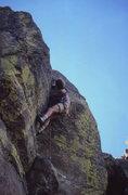 Rock Climbing Photo: Allen Sanderson on Do or Fly, High Valley, OR circ...