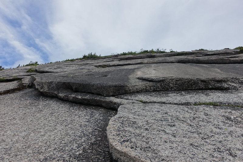 Rock Climbing Photo: North Percy, P2
