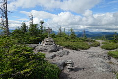 Rock Climbing Photo: North Percy Peak summit