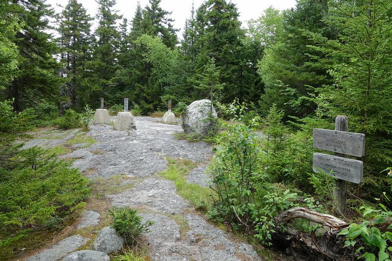 Pine Mt summit