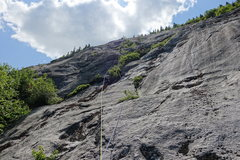 Rock Climbing Photo: P5 (Note how these climbers did the pitch slightly...