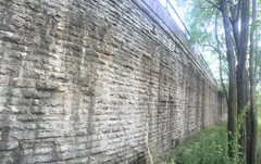 Rock Climbing Photo: Woods Wall! located far back on the West Wall. Pro...