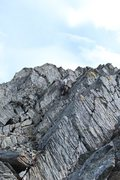 Rock Climbing Photo: Splitter Chugach rock;)