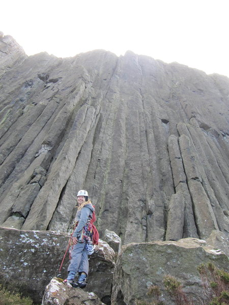 Tom Hudson at An Bealach Rúnda area, Fair Head
