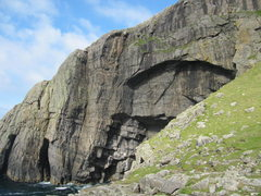 Rock Climbing Photo: The Great Arch, Pabbay, Outer Hebrides, Scotland
