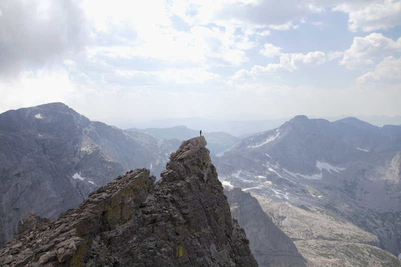 Summit of Mrs. Stubbs seen from Dark Tower.<br> <br> Photo credit: Matthew Eckelberg.