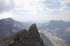 Rock Climbing Photo: Summit of Mrs. Stubbs seen from Dark Tower.  Photo...