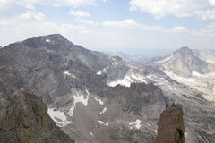 Rock Climbing Photo: The summit of Mrs. Stubbs and Wind Chill as seen f...