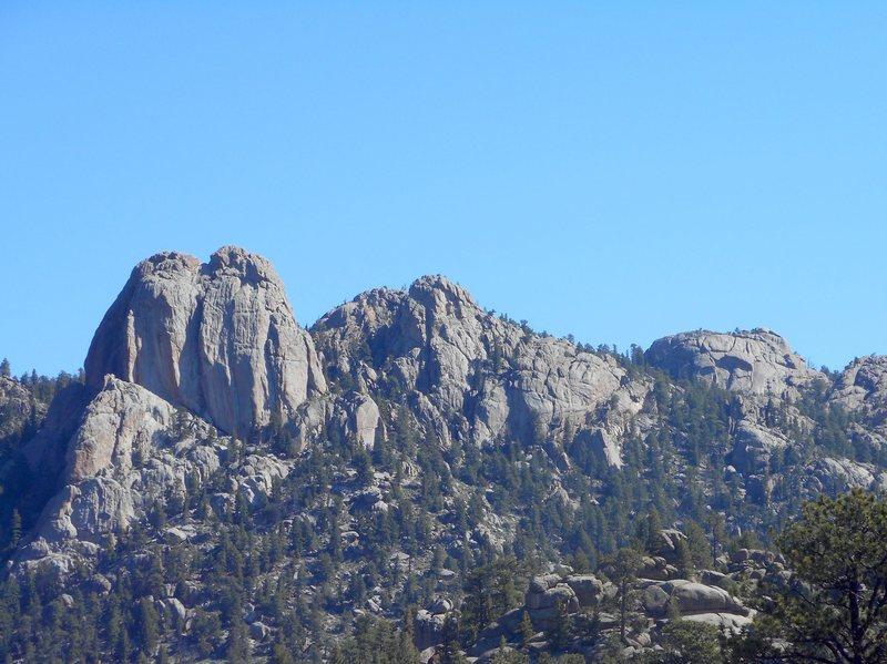 Lumpy Ridge. Twin owls.