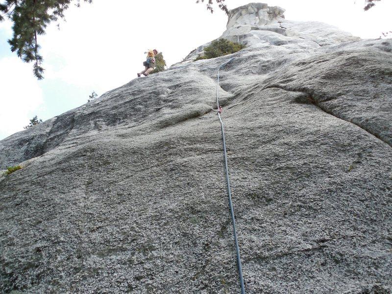 Rock Climbing Photo: Shit for Brains.