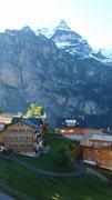 Rock Climbing Photo: village