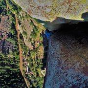 Rock Climbing Photo: Into the Wide.  Grand Giraffe.