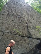 Rock Climbing Photo: Is this the face with 12 Gauge? Yes Tim