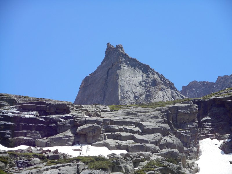 North ridge, Spearhead. RMNP. Free solo.