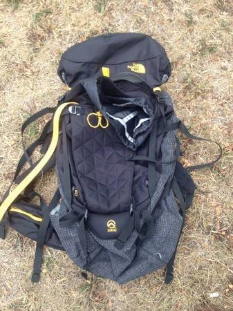 Black Northface Ski Pack $150