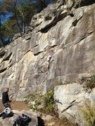 Rock Climbing Photo: Leaky Roof