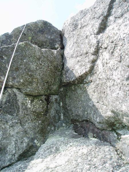 "Rock Climbing Photo: The Corner Crack of $9-Boys - ""Up Close & Per..."