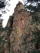 Rock Climbing Photo: View of She's A Daisy with labeled bolts.  11 ...
