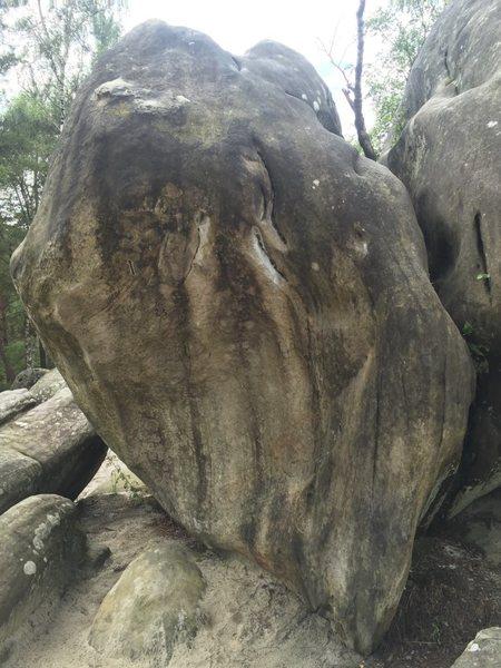 Rock Climbing Photo: The boulder