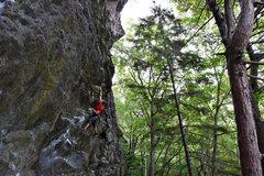 Rock Climbing Photo: Stephane on Masterpiece