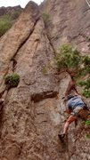 Rock Climbing Photo: Rick starts another lap on Hound Dog. The Unknown ...