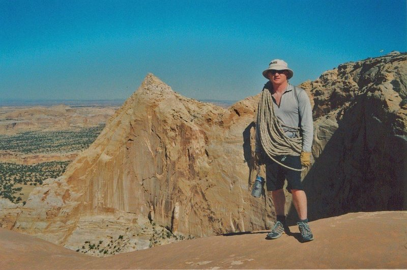 "FA ""The Pyramid Expedition""Eagle Canyon. San Rafael Swell(North)Utah. with Andy Ross. Layne Potter. 2005"