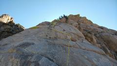 Rock Climbing Photo: Pitch 2. Photo Ian Harris.