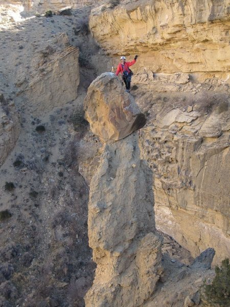 "Rock Climbing Photo: FA ""The 19th Hole"". Palisade Rim Trail ...."