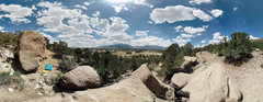 Rock Climbing Photo: Clear views of South Main, Downtown, and the Colle...