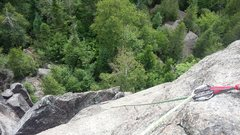 Rock Climbing Photo: Summit of l'aiguille
