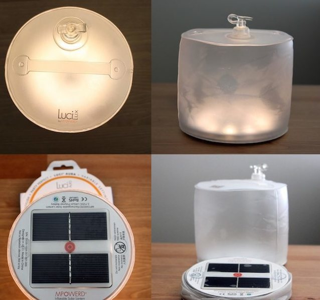 6x LUCI lux solar lanterns<br> $10ea, 2 or more = free shipping