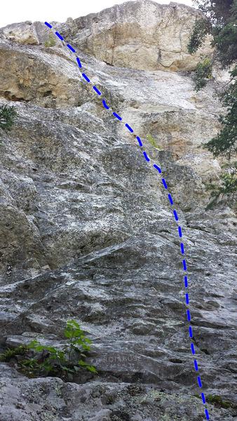Rock Climbing Photo: Thrombose 5.9