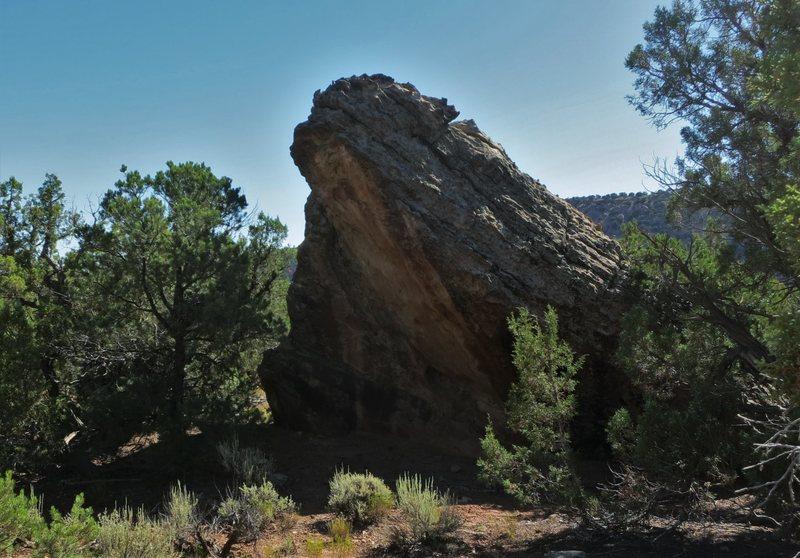 Rock Climbing Photo: Crackerjack's west face.