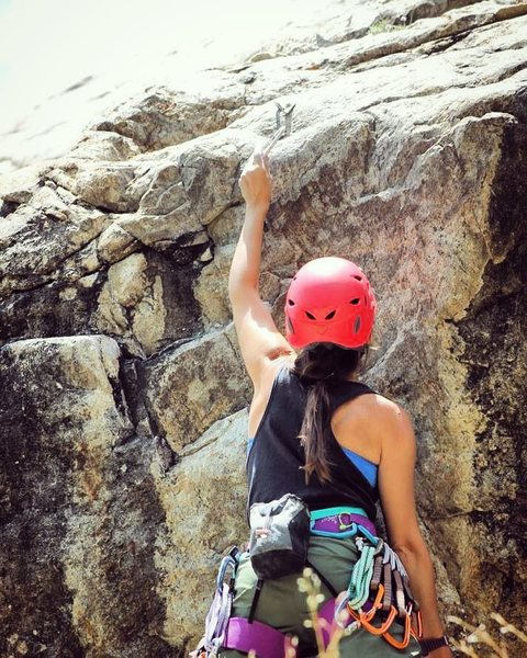 Rock Climbing Photo: white cliff