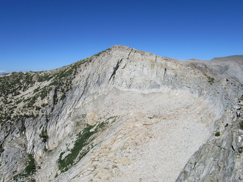 West Face of Vogelsang Peak IV 5.10 A2