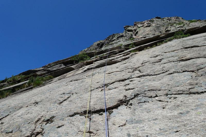 Rock Climbing Photo: Consolation Prize, P4