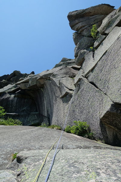 Rock Climbing Photo: Consolation Prize, P7 (shared with Lakeview)