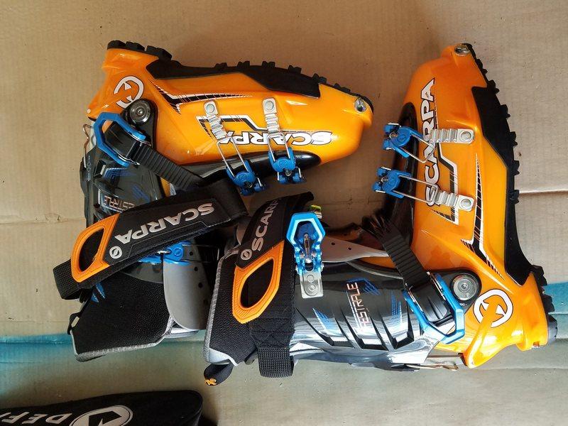 Rock Climbing Photo: ski boots