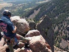 Rock Climbing Photo: Top of Rewritten, El Dorado