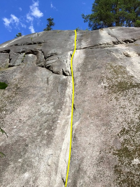 Rock Climbing Photo: First Class Topo