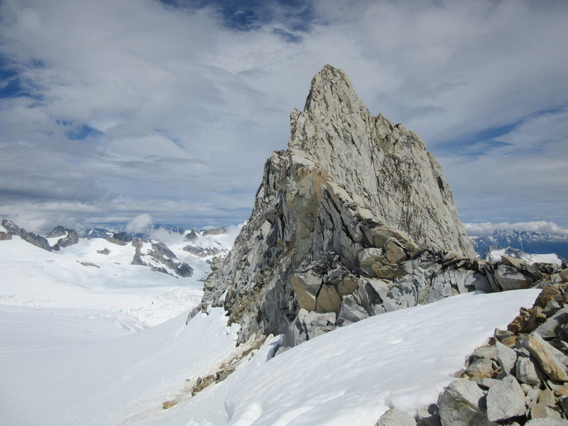 Rock Climbing Photo: Claw Peak from near the Plummer Hut.