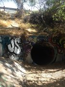 Rock Climbing Photo: This is what the culvert should look like! There a...