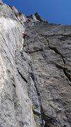 Rock Climbing Photo: pitch 4 of Centenial