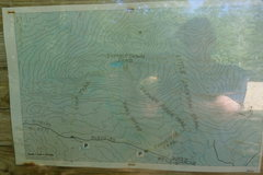 Rock Climbing Photo: Map of area. Sorry for bad quality. It's a pic...